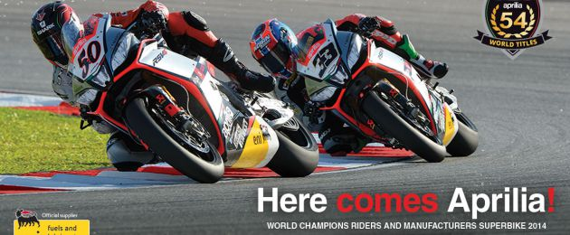 aprilia world champions riders and manufacturers superbike 2014