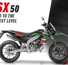 aprilia SX 50 green Energy