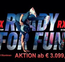 aprilia Aktion SX/RX 50 Factory Red Stuntman